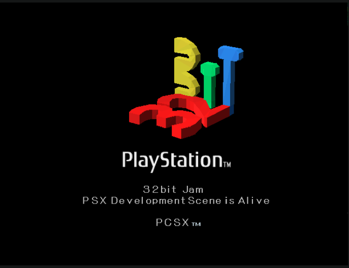 A custom psx boot logo!