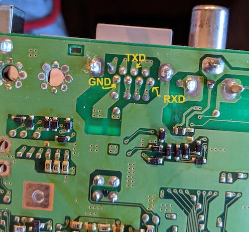 Serial motherboard